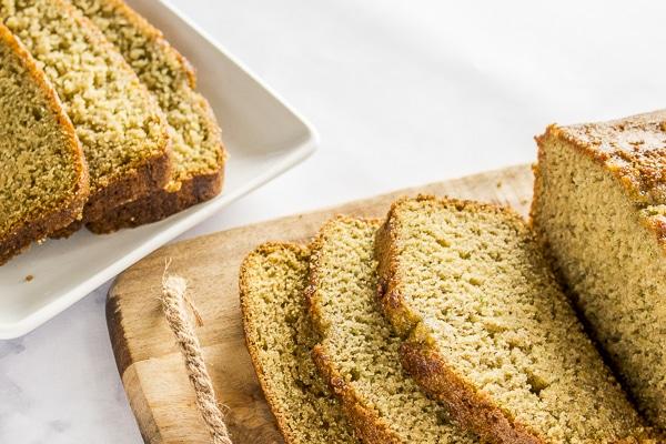 Gluten Free Blender Zucchini Bread Slices