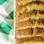 Blender Zucchini bread is the easiest zucchini bread you'll ever make! It's also gluten free and dairy free.