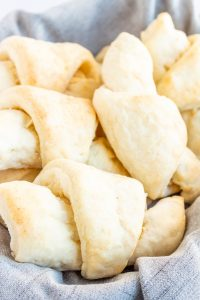 The BEST No-Fail Gluten Free Crescent Rolls - easy to make and ready in 1 hour! #glutenfreerolls #glutenfreecrescentrolls #glutenfree #LifeAfterWheat