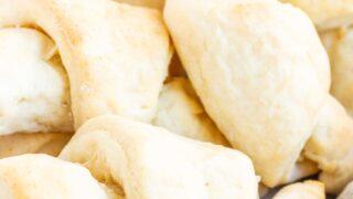 Gluten Free Crescent Rolls (dairy free option)