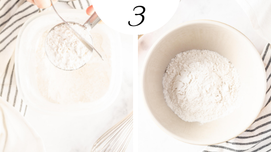 How to make the fluffiest gluten free pancakes - step by step instructions