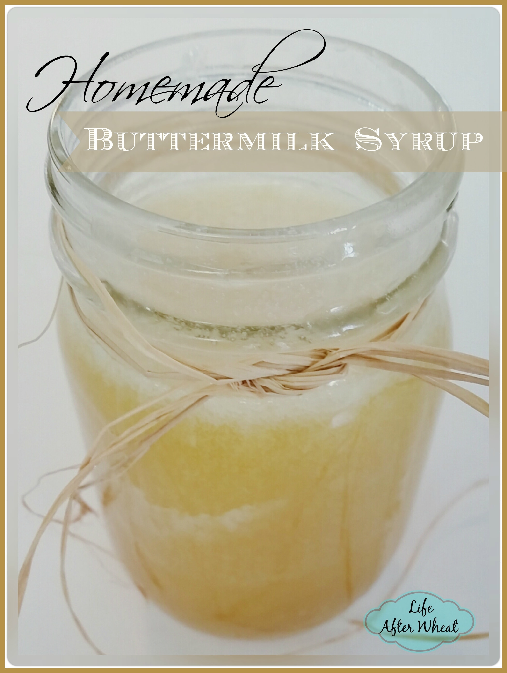Buttermilk Syrup is perfect served with French toast, pancakes, waffles, or anything else you can drench in syrup. Once you try it, you'll never go back to regular maple syrup!