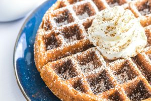 Gluten Free Gingerbread Waffles are packed with perfectly spiced gingerbread flavor and a feature a perfectly delicate texture. You would never know they're gluten free!