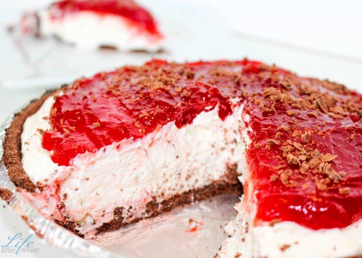 Gluten Free Black Bottom Cheesecake