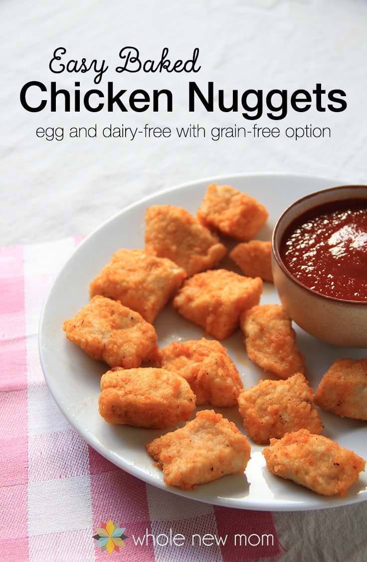 Easy-Baked-Chicken-Nuggets-by Whole New Mom