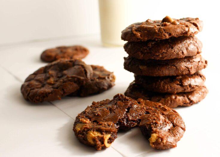 {gluten free} Brownie Cookies