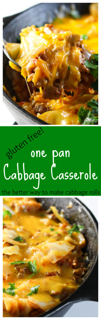 One pan is all you'll need for this hearty supper packed with everything you would find in your favorite cabbage roll recipe: savory meat, rice, crisp-tender cabbage, and tangy tomato sauce.