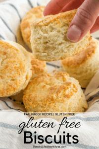 Gluten Free Biscuits Pinterest Image