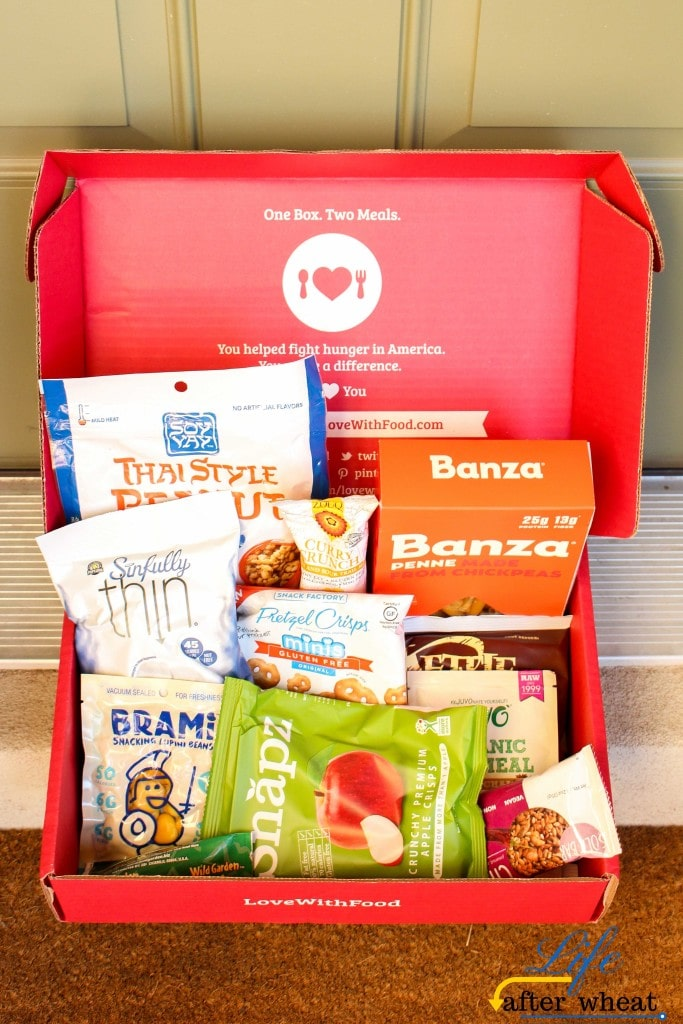 Love with Food Subscription Box June 2016