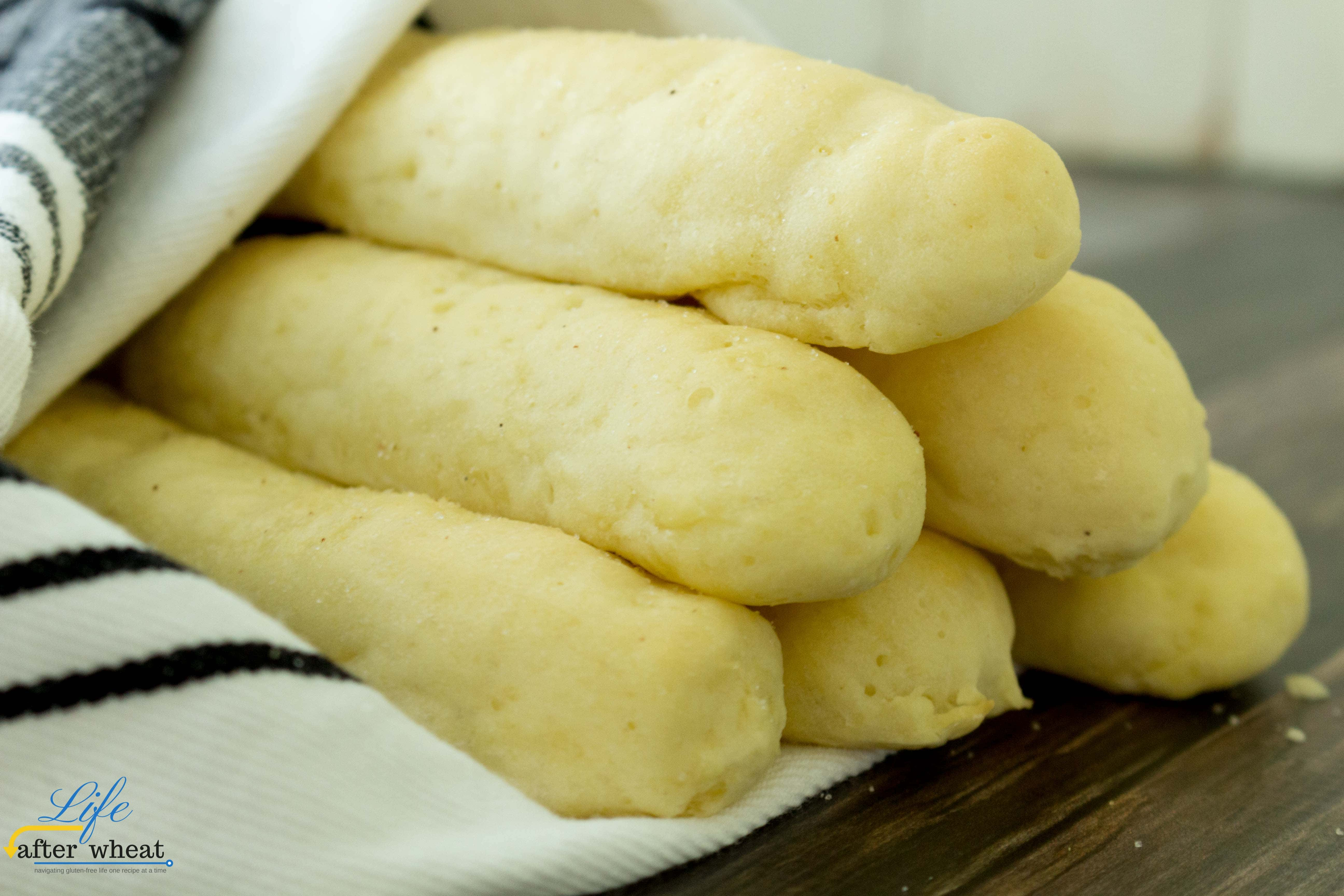 gluten free breadsticks