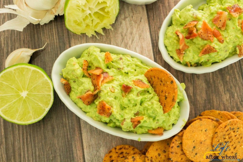 Take your guacamole to a whole new level by making BACON GUACAMOLE! Roasting the avocados brings a depth of flavor that is irresistible when paired with smokey bacon. No need to worry about what to do with the leftovers-there won't be any!