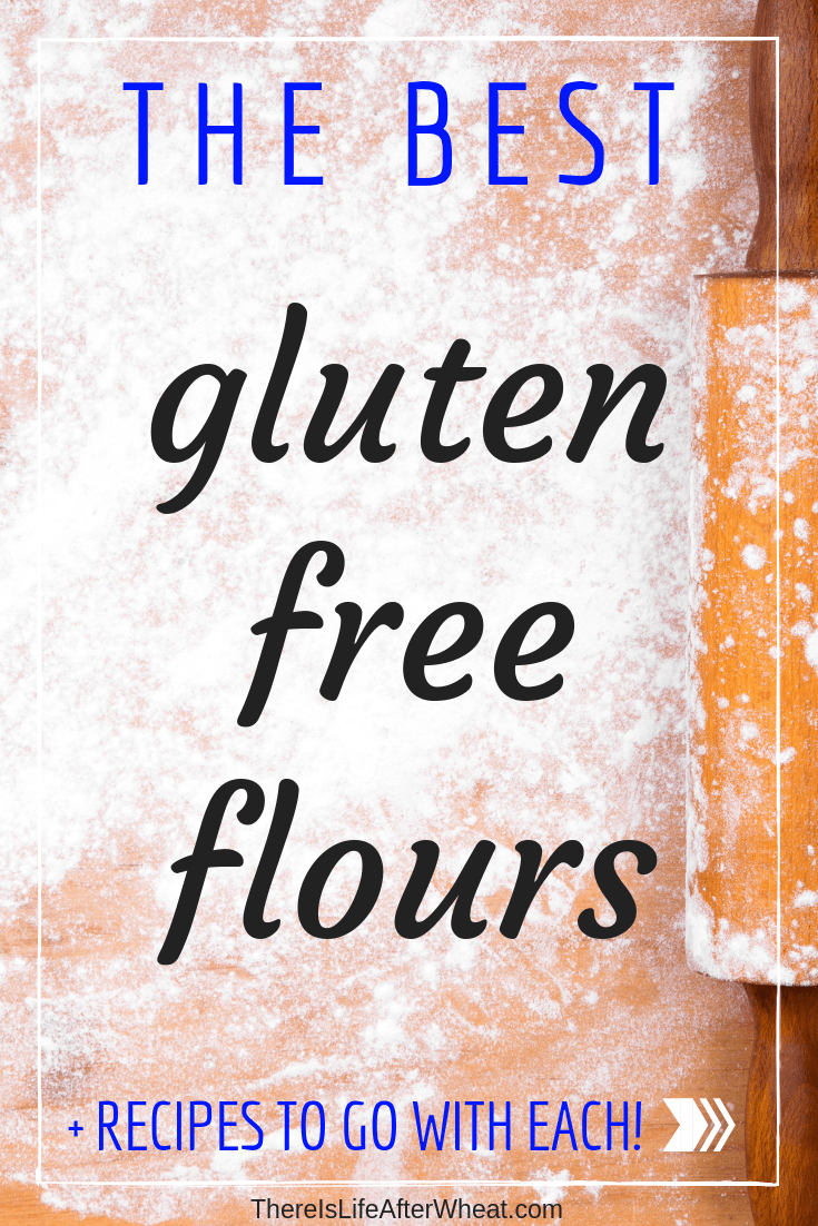 The BEST gluten free flours, and recipes that work well with each. #glutenfree #glutenfreeflour #glutenfreebaking