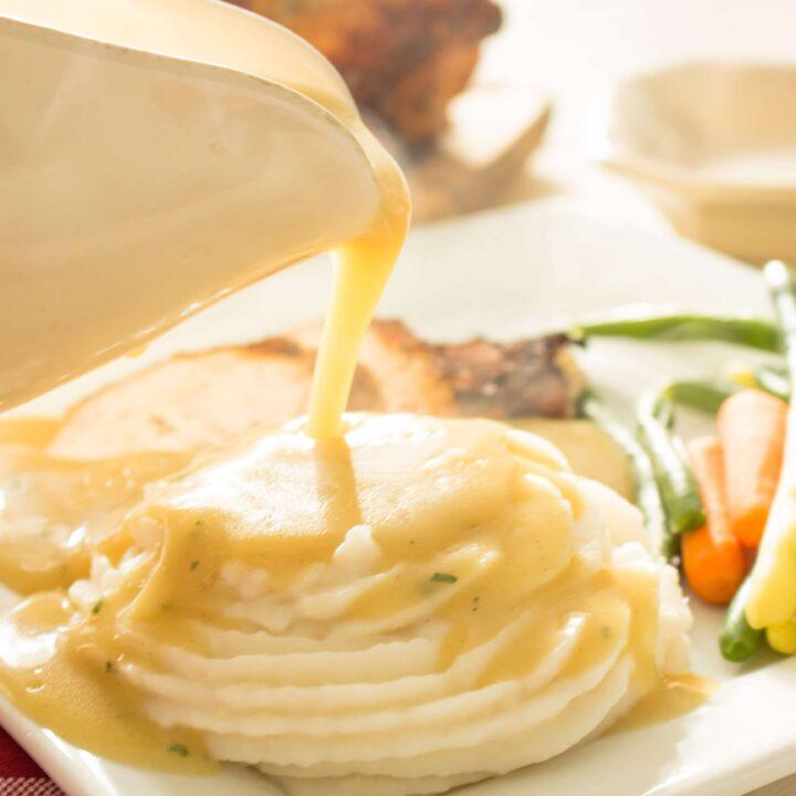 Gluten Free Gravy Recipe 3 Ingredients Dairy Free Life After Wheat