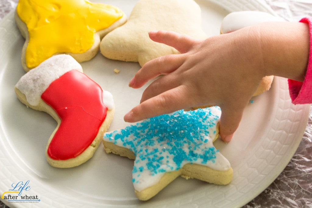 Pudding makes these gluten- and dairy-free cookies soft and full of sweet vanilla flavor. These gluten free sugar cookies are easy to make and there's need to refrigerate the dough!