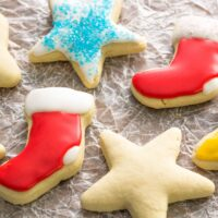 Gluten Free Soft Sugar Cookies