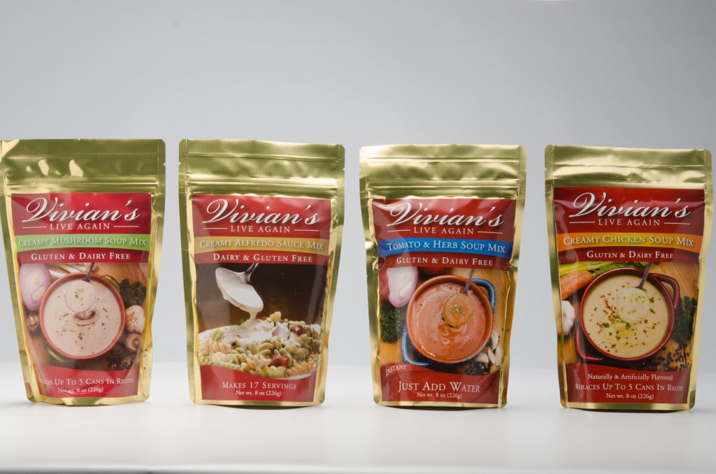 Meet Vivian's Live Again, a brand dedicated to making a variety of gluten free and dairy free mixes that taste great so everyone can enjoy eating great-tasting food together! Learn how the brand got started, discover some new products, and snag some delicious gluten- and dairy-free recipes.