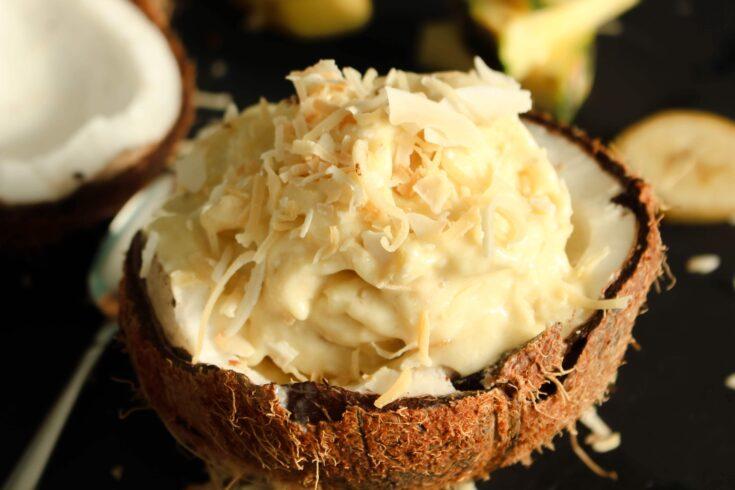 Pina Colada Nice Cream