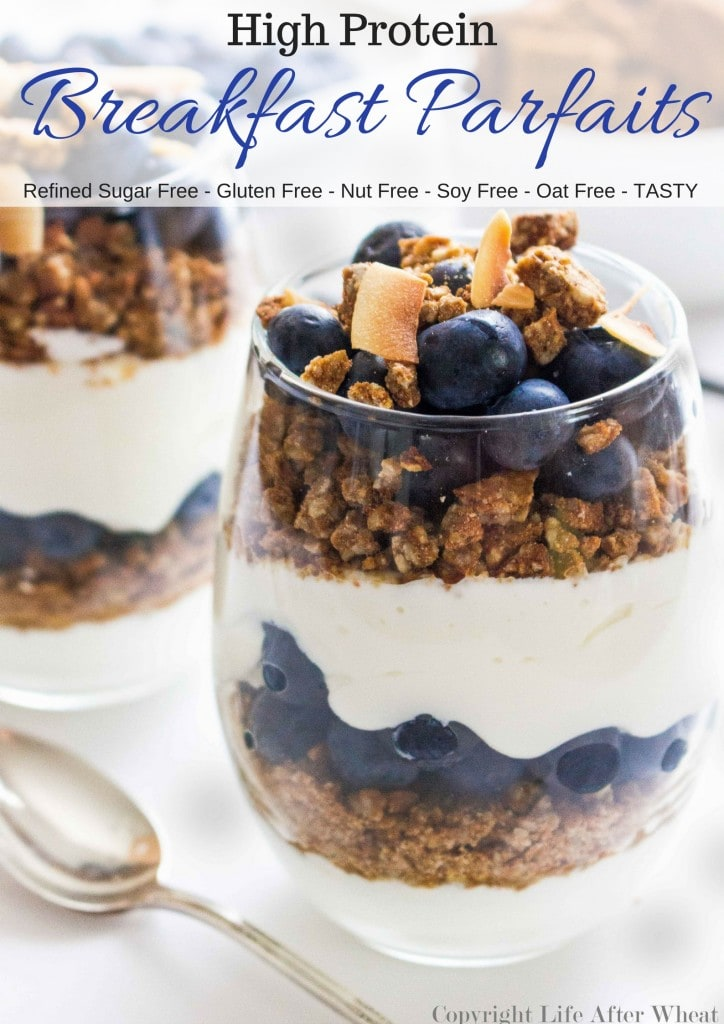 Start your morning off with a bang! This yogurt parfait is packed with protein, fiber, and antioxidants but it definitely isn't lacking in flavor! It will leave you feeling satisfied and ready to make your day nothing less than amazing.
