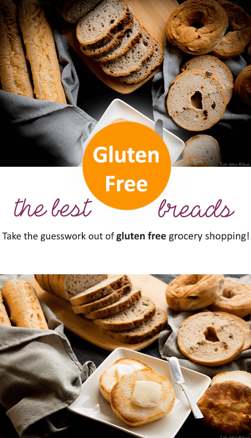 Take the guesswork out of gluten free grocery shopping! Here's a list of the best gluten free bread products on the market. Want to bake your own? We've got you covered with recipes for Sandwich Bread, Flaky Biscuits, soft and buttery Crescent Rolls, and Garlic Breadsticks!