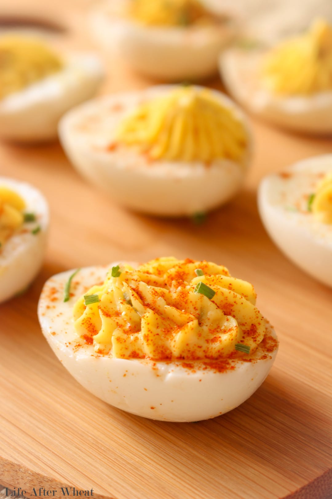 Everyone needs a classic deviled egg recipe in their repertoire, and this one takes the cake! The addition of pickle relish gives these eggs a flavor boost.