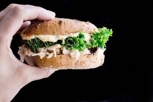 Coconut Chicken Salad Sandwich