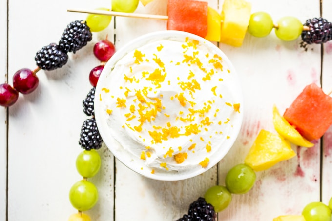 This 2 ingredient fruit dip is AMAZING! It's so easy to make any flavor you want!, you'll never need another fruit dip!