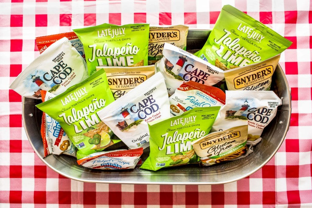 The new Gluten Free Snack Pack from Snyder's-Lance has 4 irresistibly salty and crunchy flavors.