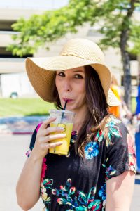 Summer at the Ogden Farmer's Market: Sipping a Hydration Smoothie from Boisson Artisan Beverage truck