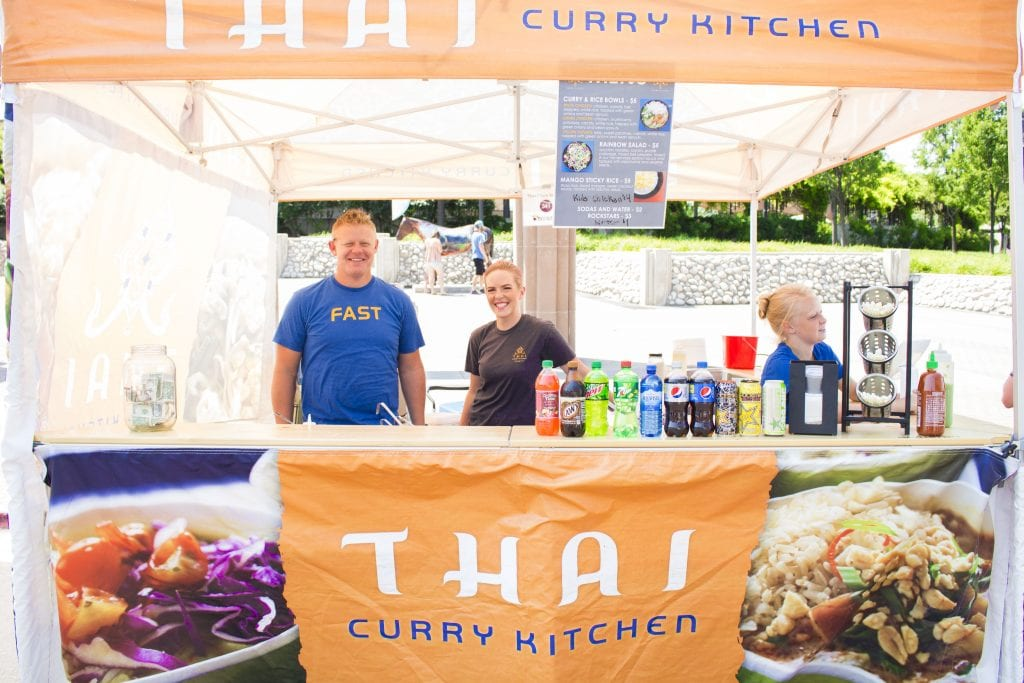 Thai Curry Kitchen at the Ogden Farmer's Market