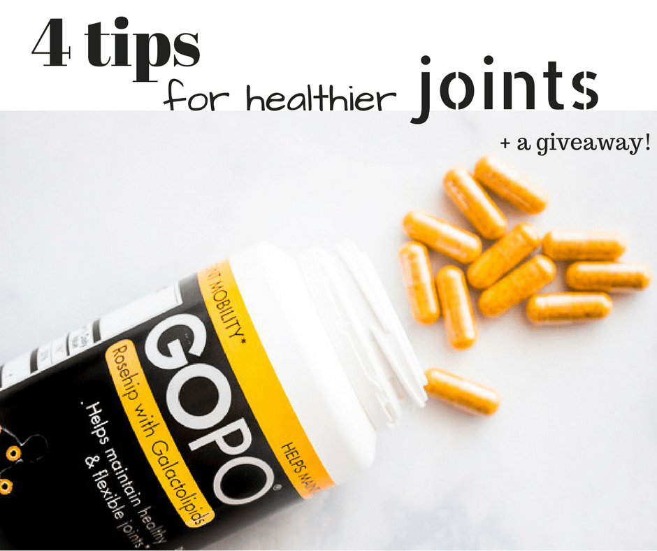4 Natural tips for healthier joints