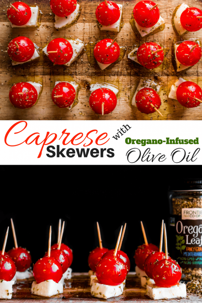 Caprese Skewers are the perfect party app!