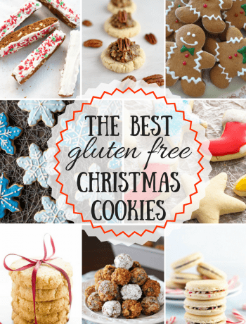 The BEST gluten free Christmas cookie recipes are here! From sugar cookie cut-outs to drop cookies, we've got you covered with the best gluten free cookie recipes from top bloggers.