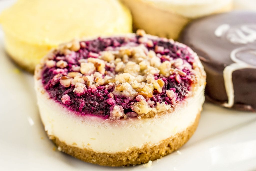 Triple Berry Gluten Free Cheesecake from Gem City Fine Foods.