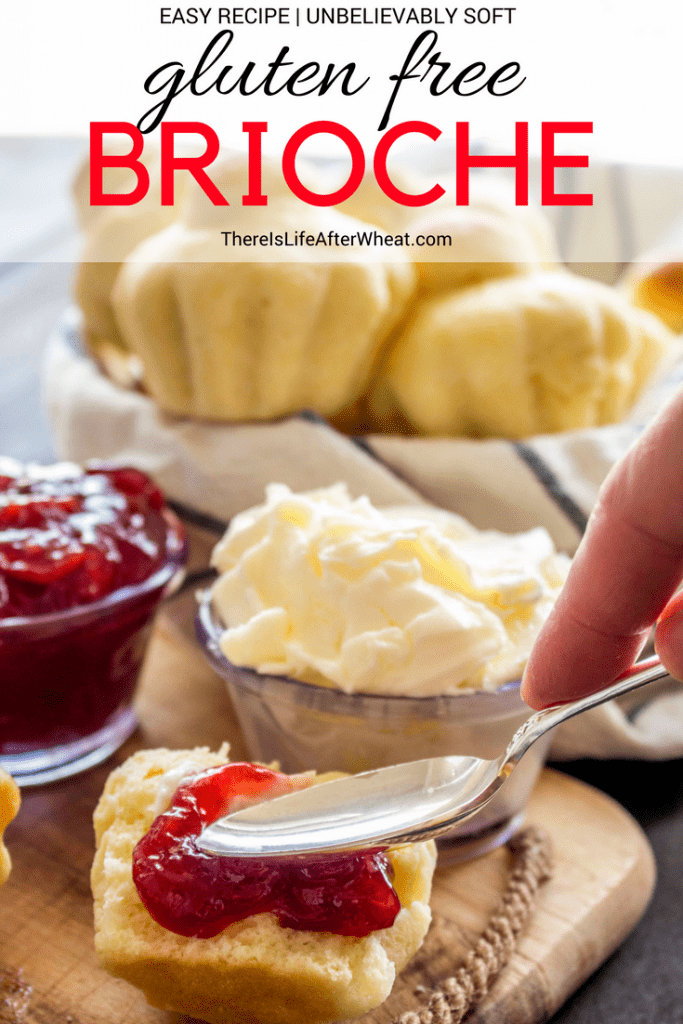 Gluten Free Brioche Pinterest Image