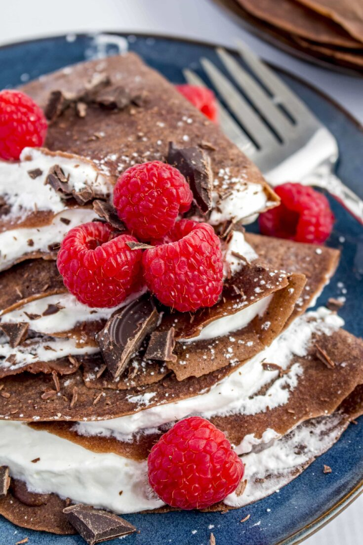Chocolate Gluten Free Crepes