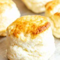 Easy Gluten Free Biscuits (dairy free option)