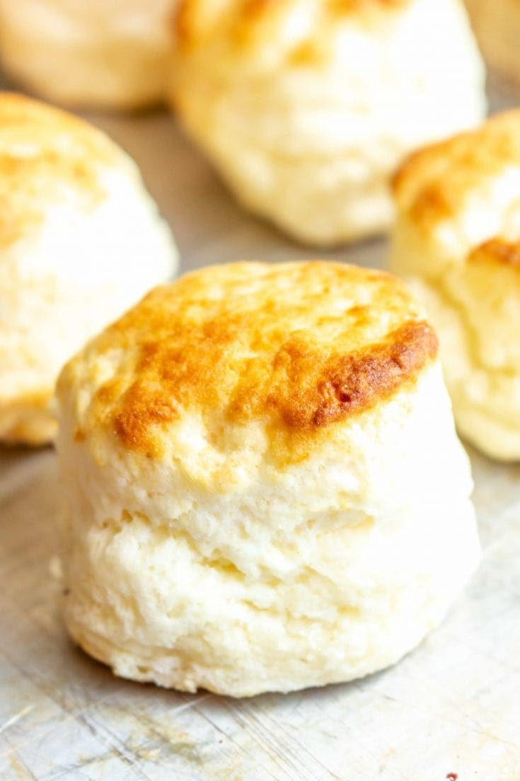 Easy Gluten Free Biscuits (dairy free option)