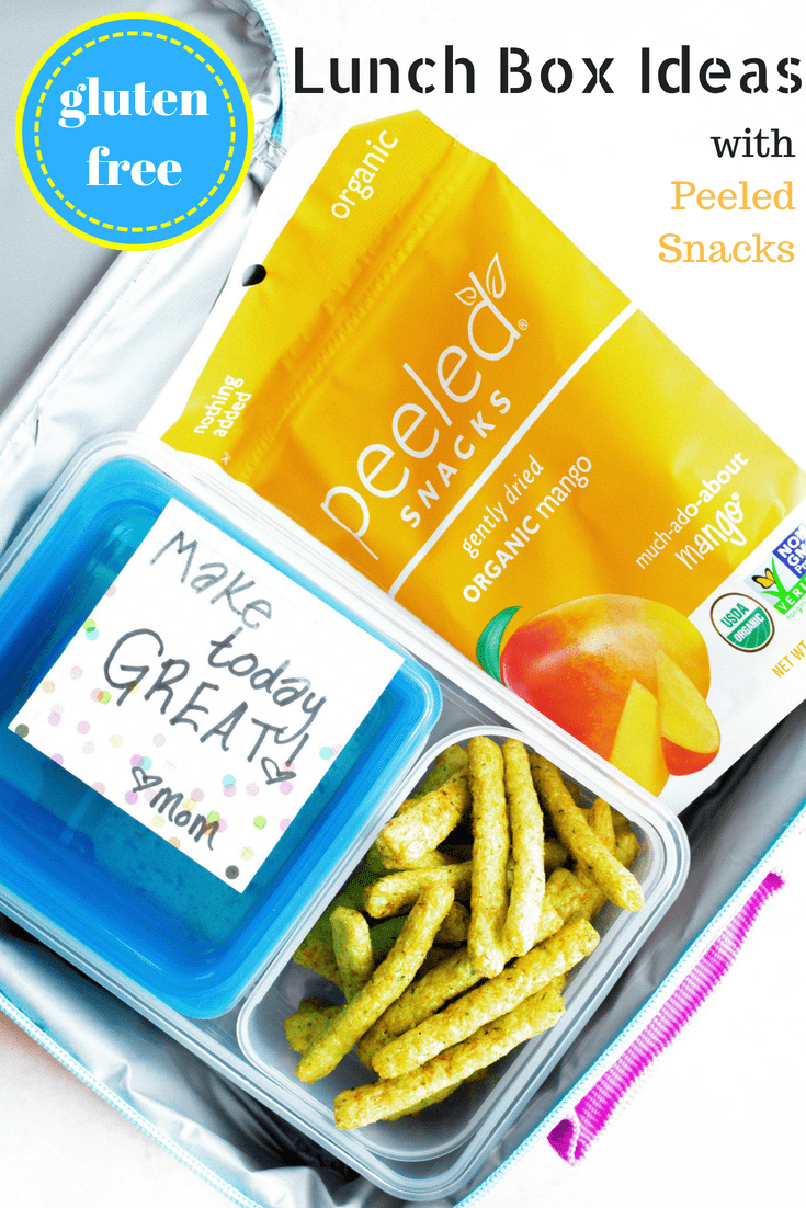 Gluten Free Lunch Box Ideas with Peeled Snacks , Life After