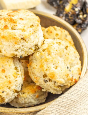 Gluten Free Green Chile Biscuits