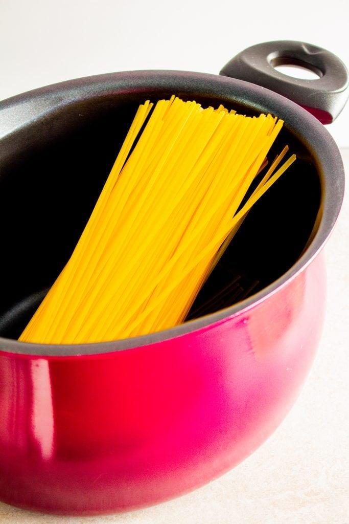 The BEST pot for making gluten free pasta #glutenfreepasta #glutenfree #LifeAfterWheat