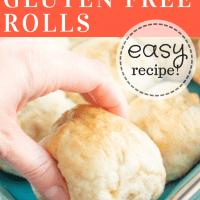 Gluten Free Rolls (dairy free option)