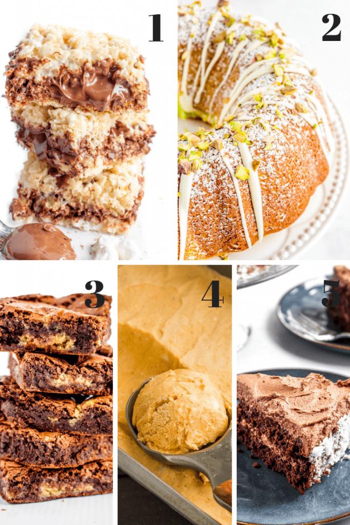 The BEST gluten free dessert recipes! Easy, no-fail recipes perfect for beginners. #glutenfree #glutenfreedessert #glutenfreerecipes #LifeAfterWheat