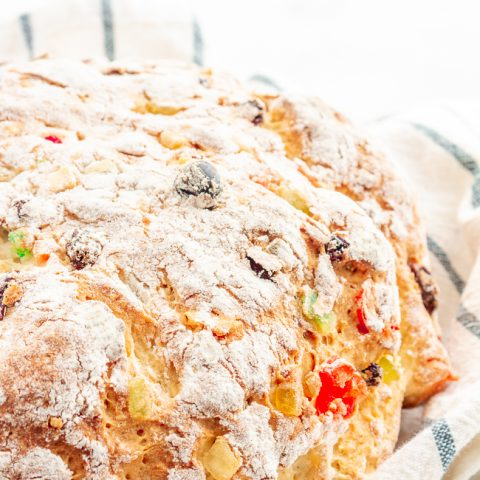 Gluten Free Julekake (Scandinavian Christmas Bread)