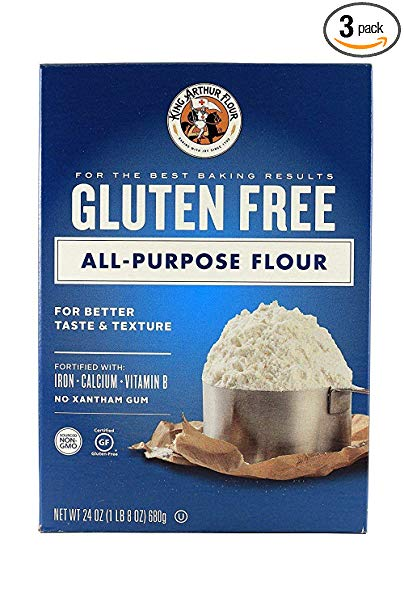 King Arthur Gluten Free Flour is the PERFECT blend for gluten free crepes, and other gluten free recipes that need little or no xanthan gum. Click for gluten free recipes that work well with this flour! #glutenfreeflour #bestglutenfreeflour #glutenfreeflourmix #glutenfreerecipes #glutenfree #LifeAfterWheat