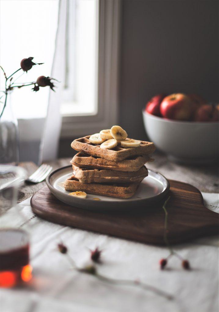 Gluten-Free Oat & Quinoa Blender Waffles