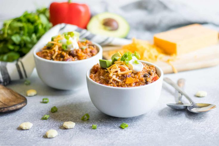 Pumpkin Quinoa Chili