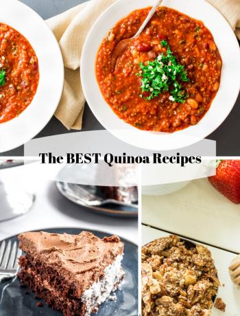 The BEST Quinoa Recipes from breakfast to dessert and everything in between! #glutenfree #quinoarecipes #quinoa #quinoarecipe #LifeAfterWheat