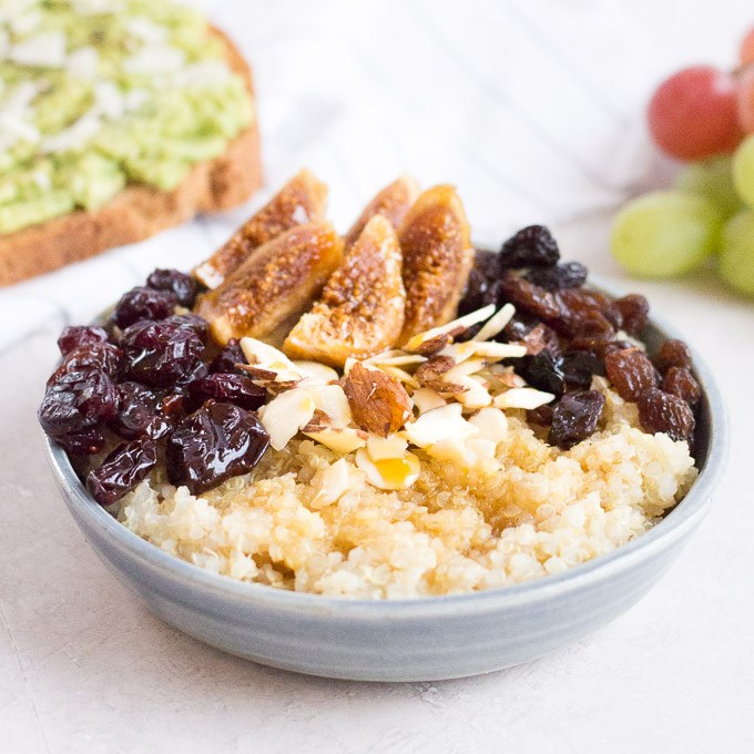 Quinoa Breakfast Bowl | Hot Pan Kitchen