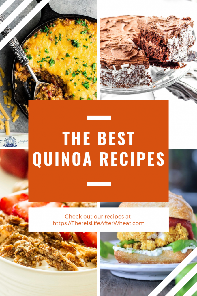 The BEST Quinoa Recipes! Everything from breakfast to dinner and even dessert! #quinoa #quinoarecipes #Quinoarecipe #glutenfree