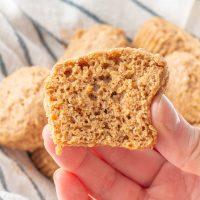Flaxseed Muffins (gluten free, dairy free, vegetarian)